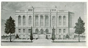 architectural sketch 1926