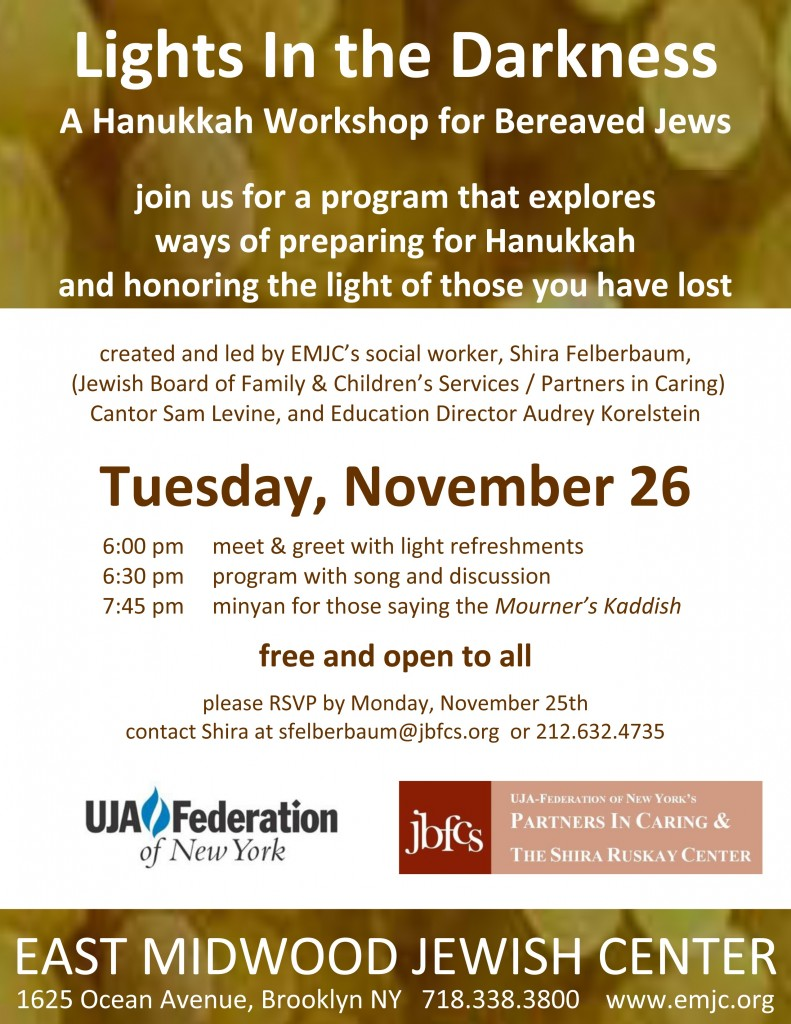 Hanukkah Workshop