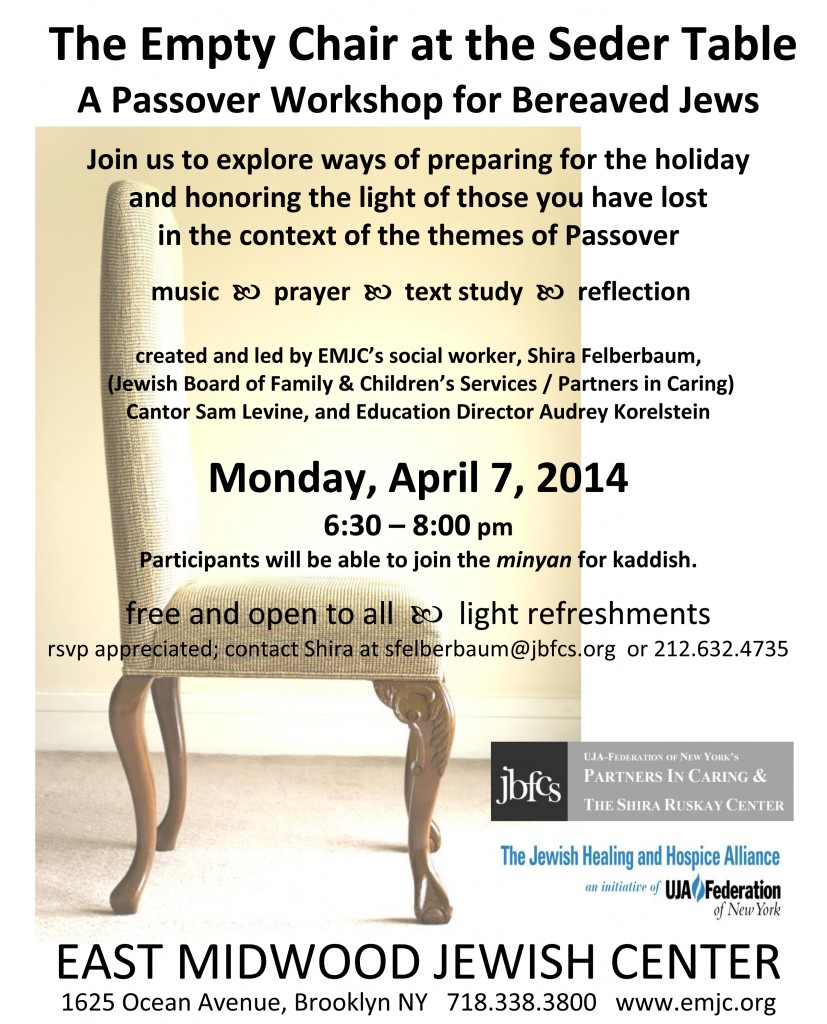Passover Workshop, Bereaved Jews, April_2014_letter_color