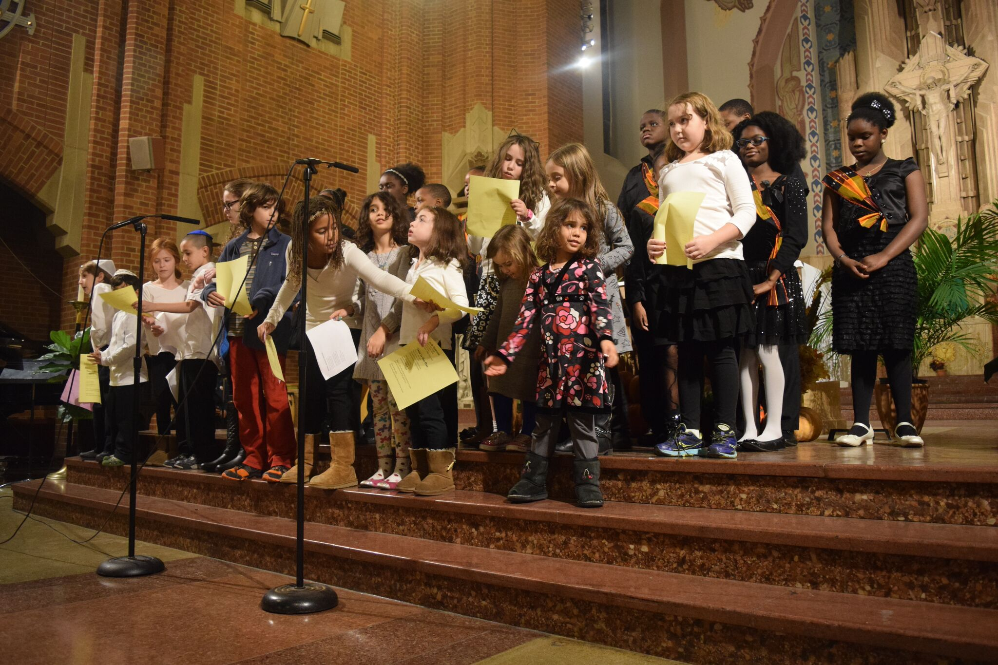 OLR and EMJC kids sing