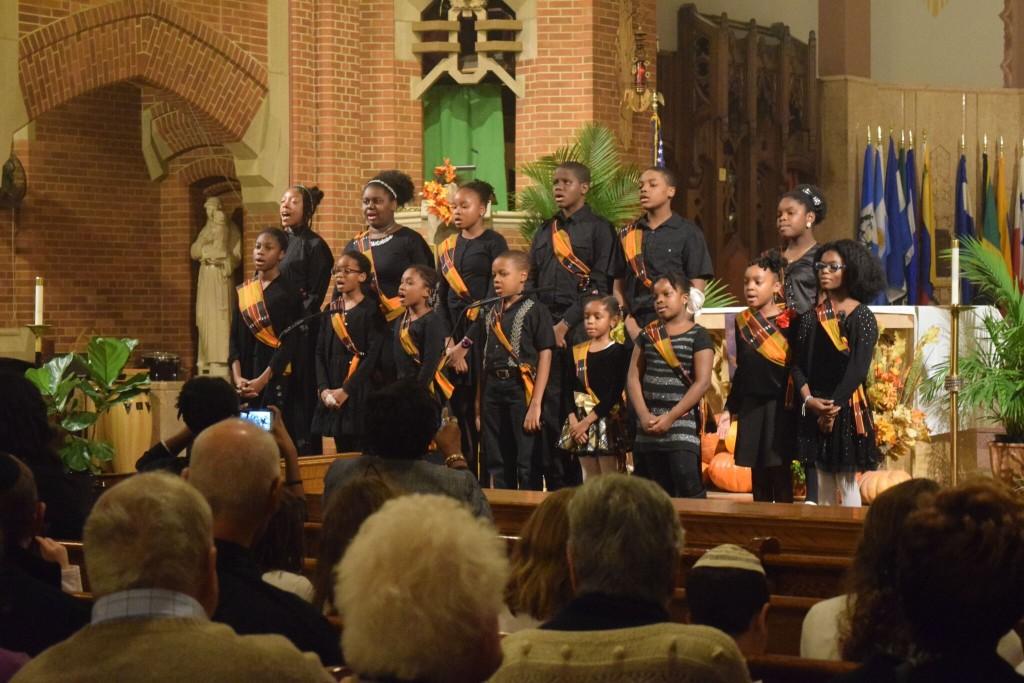 OLR kids sing