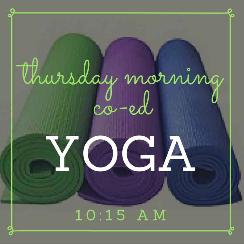 Thursday Morning Co-Ed Yoga